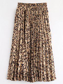 Falda Plisada Leopardo - Leopardo