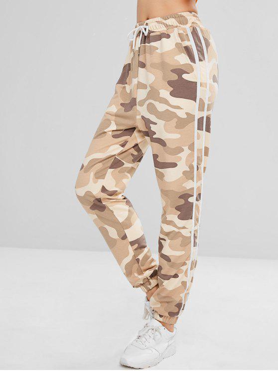 Pantaloni Da Jogging Di ZAFUL Di Camouflage A Righe - ACU Camouflage M