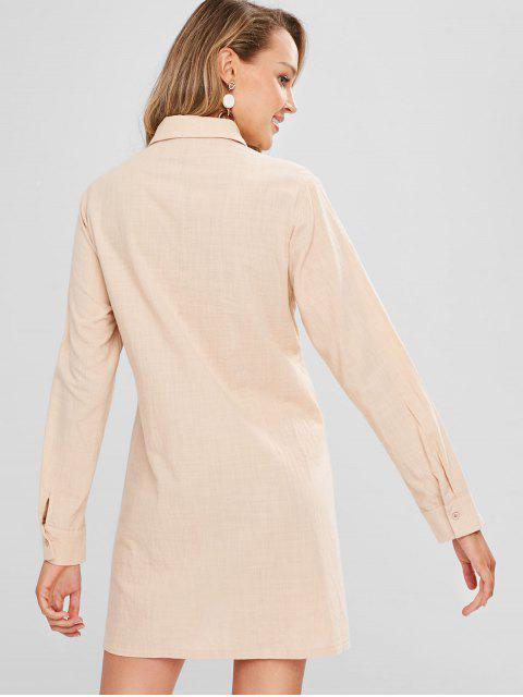 Robe Chemise Tordue - Soie de Maïs XL Mobile