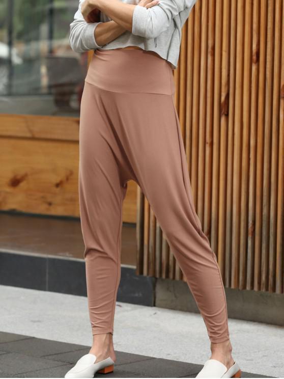 Pantaloni Di ZAFUL A Vita Alta - Salmone Arancione M