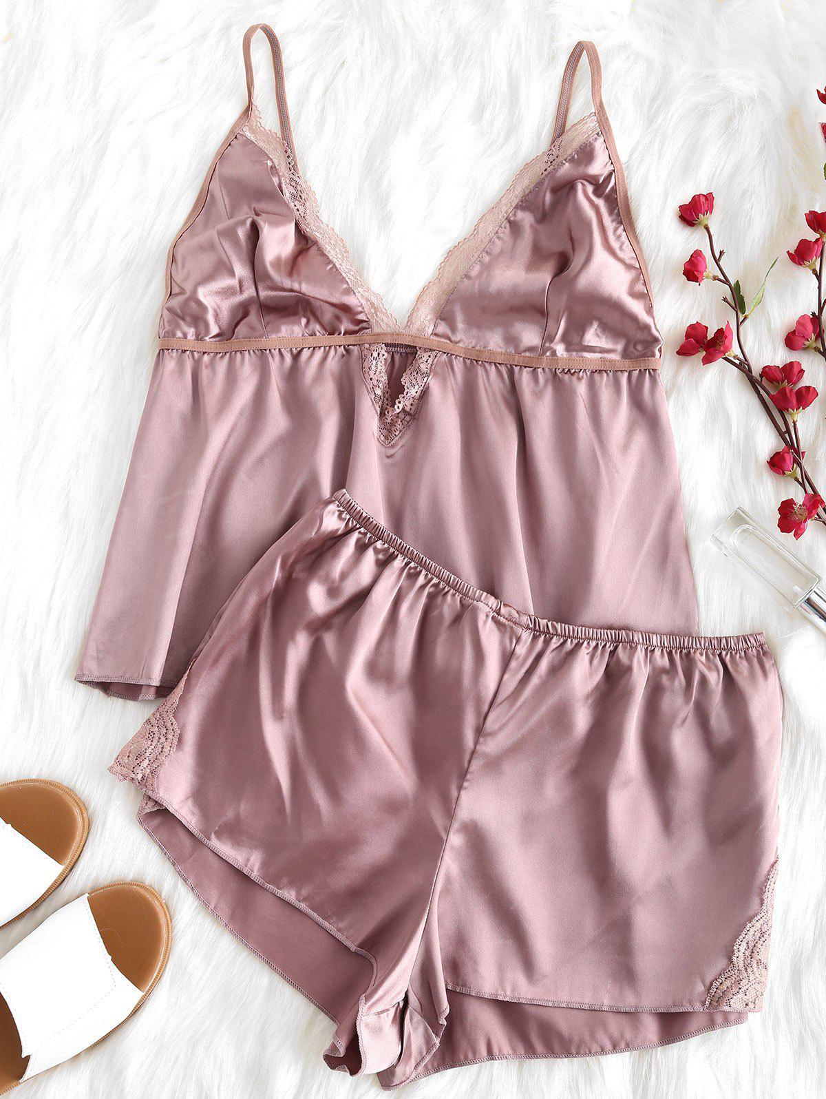 Cami Top and Shorts Pajama Set
