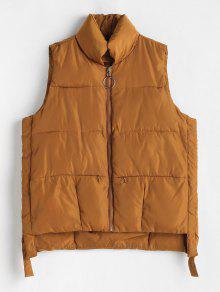 انغلق جيوب مبطن صدرية - الكراميل L