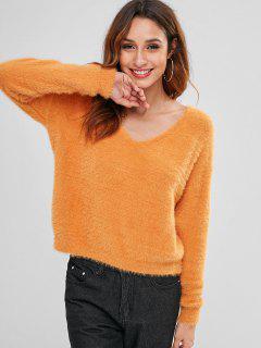 Pull Flou Cosy - Orange