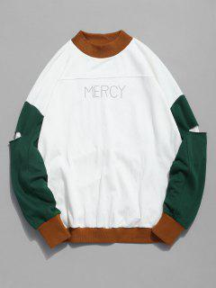 Sweat-shirt à Manches Longues - Kaki 3xl