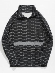 الكنغر جيب الصين نمط تي شيرت - أسود 2xl