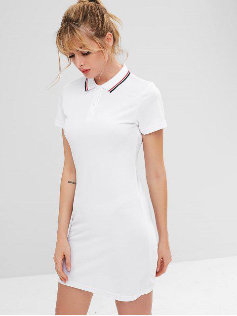 ZAFUL Mini Athletic Dress - Weiß S Mobile
