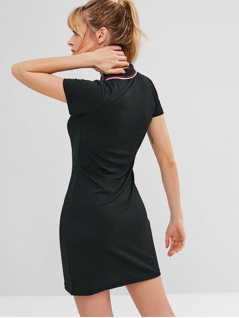 ZAFUL Mini Athletic Dress - Schwarz M Mobile
