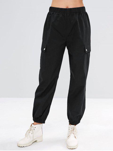 Pantalones de Jogger Carga - Negro S Mobile