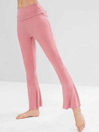 Calças De Cintura Alta De Ioga - Melancia Rosa M