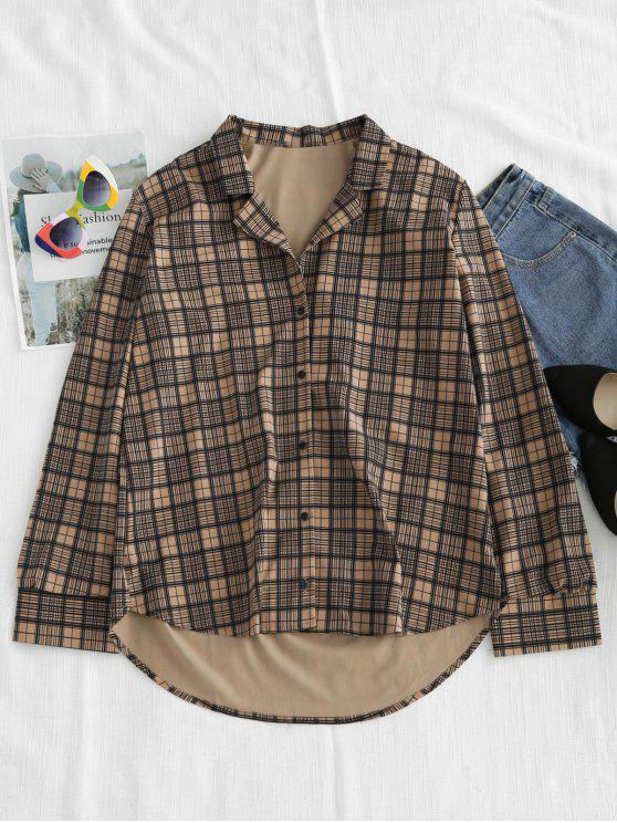 outfits Checked Casual Shirt - MULTI L