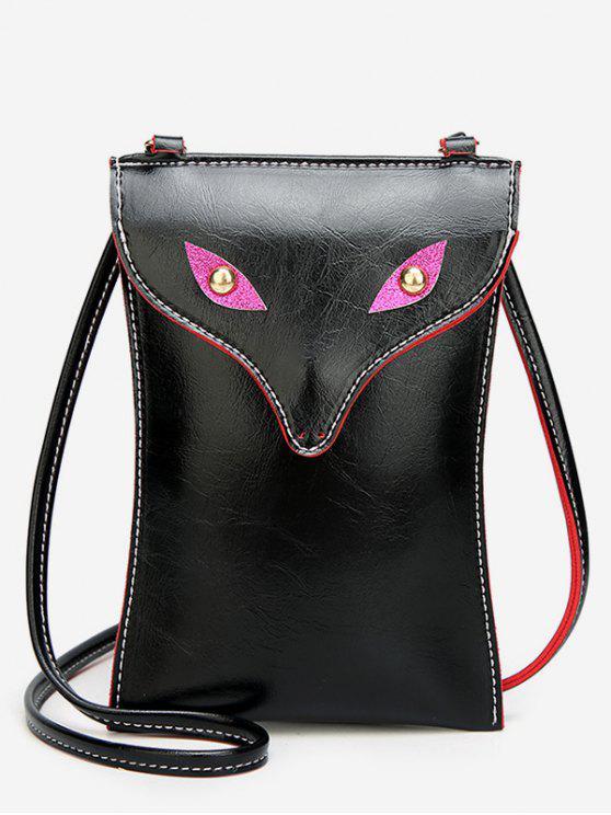 Sac bandoulière Mini Wolf - Noir