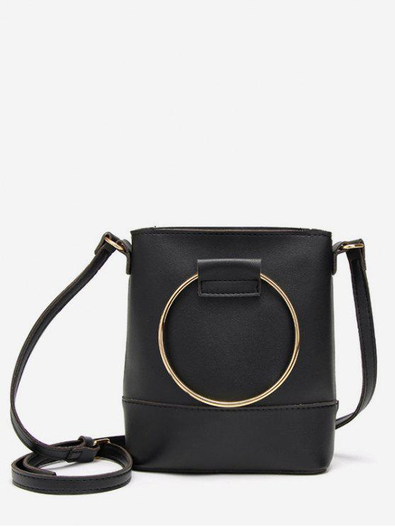 2019 Metal Round Going Out Crossbody Bag In BLACK  ff7fdd4c1924