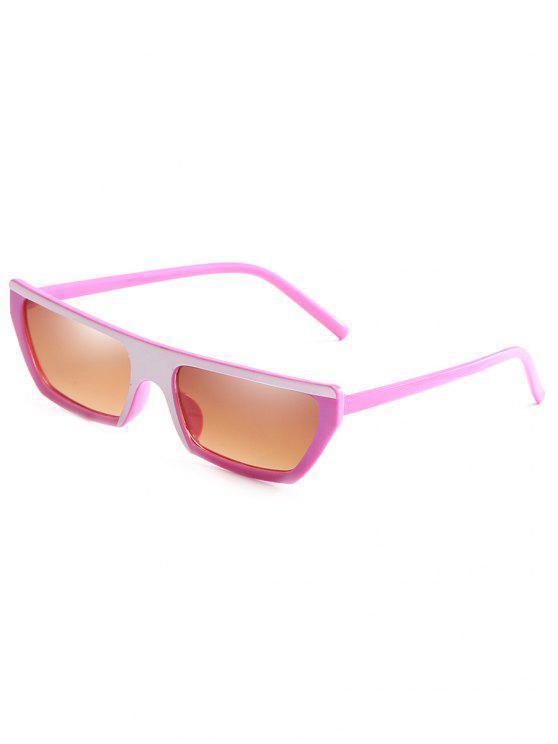 O retângulo anti fadiga plana inclina óculos de sol - Areia Castanha