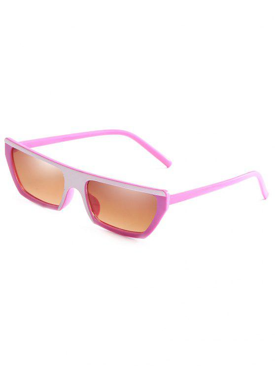 buy Anti Fatigue Rectangle Flat Leans Sunglasses - SANDY BROWN