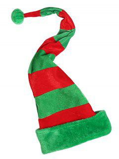 Novelty Color Block Christmas Party Hat - Multi