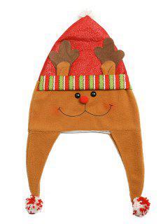 Christmas Theme Cartoon Elk Party Hat - Multi