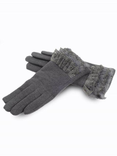 Gants d'Hiver Full Finger Lace - Gris  Mobile