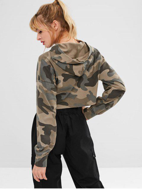 Camo sudadera con capucha deportiva - ACU Camuflaje S Mobile