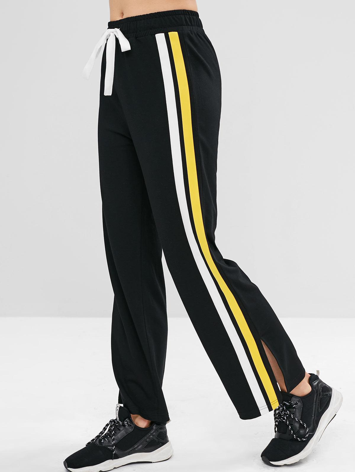 ZAFUL Contrast Side Sports Sweatpants