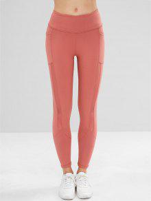 ba8c546129b116 Pocket Mesh Insert Sports Leggings; Pocket Mesh Insert Sports Leggings ...