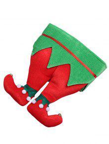 عيد الميلاد موضوع بنطلون الجدة حزب القبعة - متعددة-b