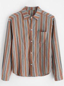 قميص بحافة عالية تنحنح - متعددة-a M