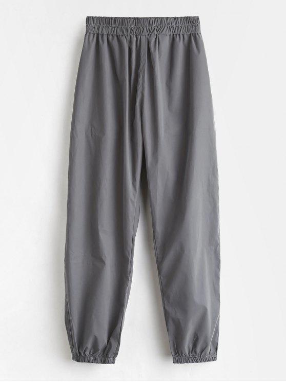 Pantalones de deporte casual jogger deportivo - Gris L