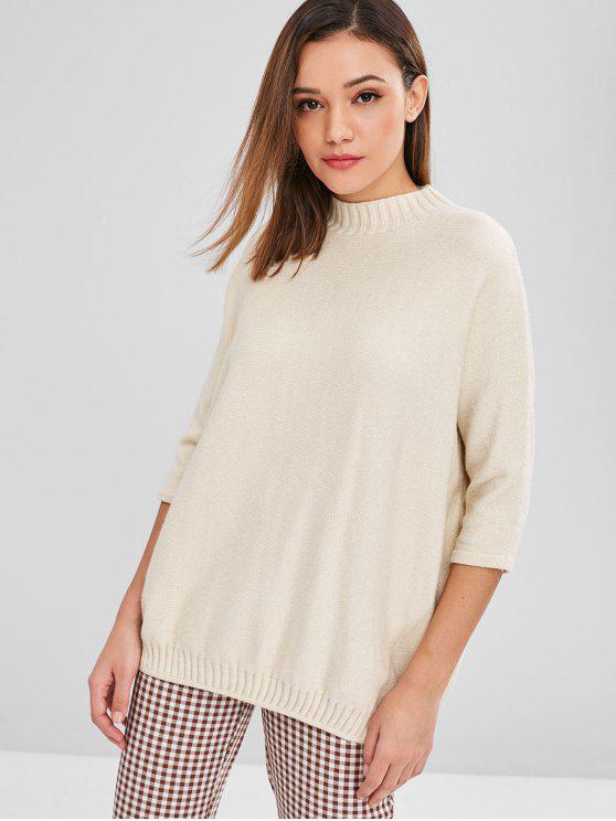 Maglione Plus Size - Bianco caldo Taglia unica