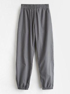 Sports Athletic Casual Jogger Pants - Gray M