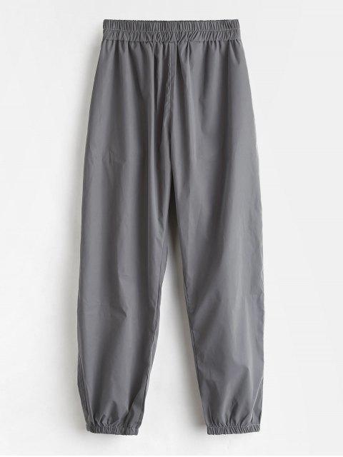 Pantalones de deporte casual jogger deportivo - Gris L Mobile