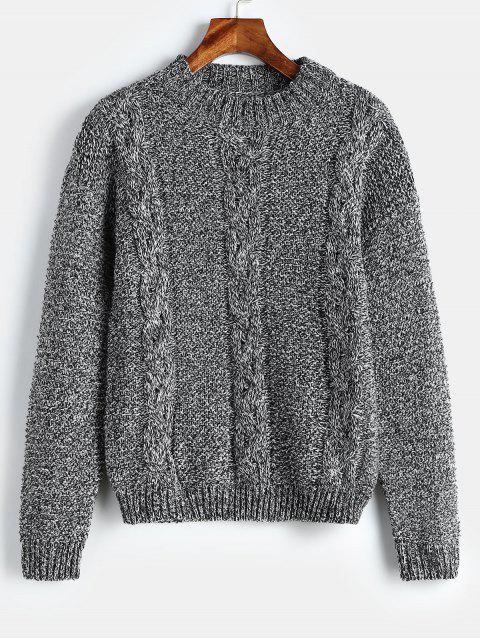 Pullover Pullover Zopfmuster - Multi Eine Größe Mobile