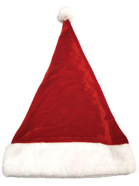 hot Christmas Santa Claus Hat - CHERRY RED