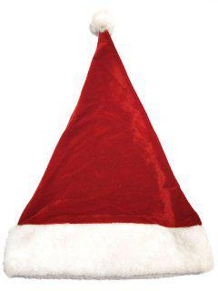 Christmas Santa Claus Hat - Cherry Red