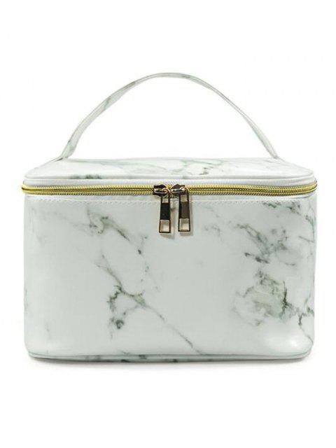 lady Portable Marble Pattern Large Capacity Toiletry Bag - #001  Mobile
