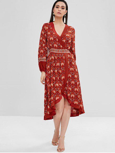 Robe Bohémienne Superpoeée Fleurie Haute Basse - Multi S Mobile