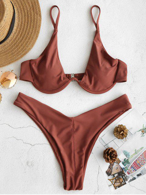 Bikini con aros de pata alta ZAFUL - Calamar L Mobile