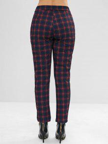 bc47190678 Straight Plaid Pants