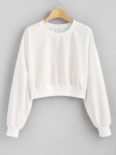 Back Graphic Sweatshirt - White