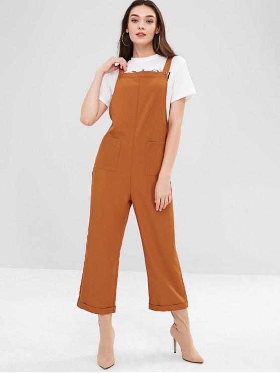 Combinaison ZAFUL à poches carrées et larges - Orange Tigre M