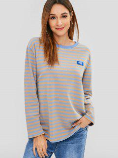 Long Sleeve Striped Top - Multi