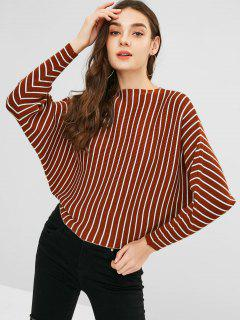 Stripes Batwing Sweater - Multi