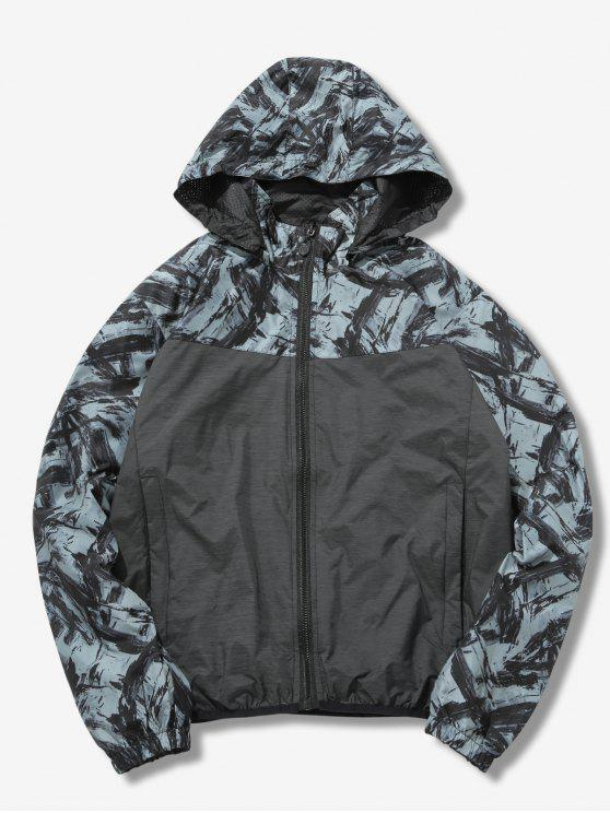 Sombrero reversible chaqueta desmontable - Gris L
