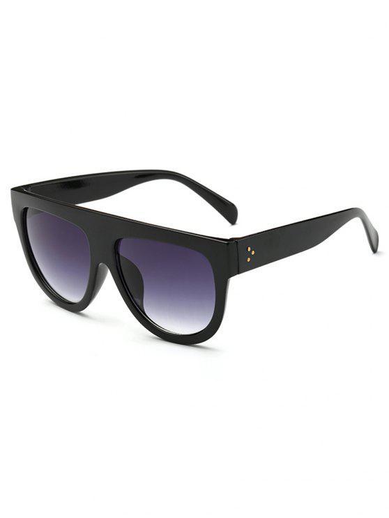 women's Animal Print Novelty Oversized Frame  Driving Sunglasses - BLACK