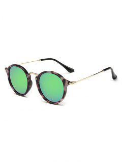 Anti Fatigue Metal Frame Driving Sunglasses - Fern Green