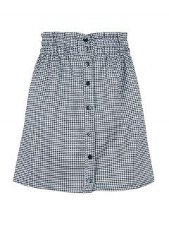 Eine Linie Houndstooth Rock - Multi L