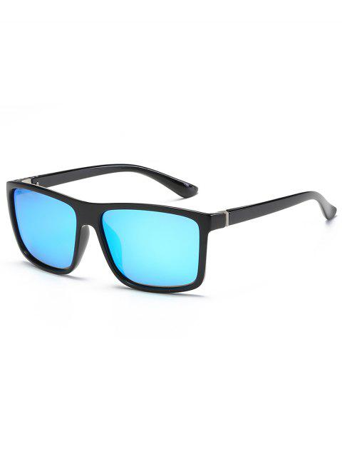 lady Vintage Flat Lens Full Frame Driving Sunglasses - DAY SKY BLUE  Mobile