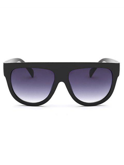women's Animal Print Novelty Oversized Frame  Driving Sunglasses - BLACK  Mobile
