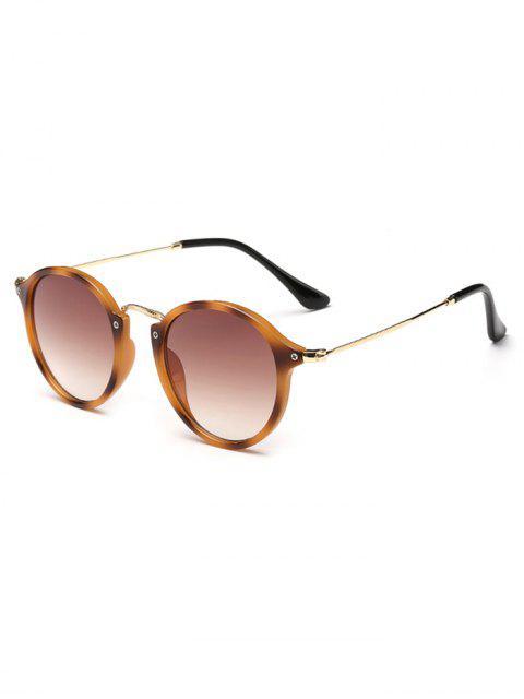 online Anti Fatigue Metal Frame Driving Sunglasses - LEOPARD  Mobile