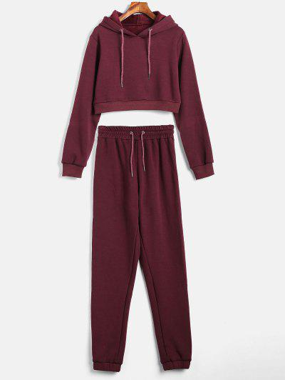 Stripes Hoodie And Jogger Pants Set