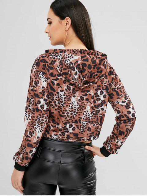 online Leopard Hoodie - MULTI L Mobile